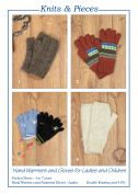 Sandra Polley Hand Warmers & Gloves Knitting Pattern KP20  4 Ply, DK
