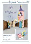 Sandra Polley The Rapunzel Story Toys Knitting Pattern KP24  4 Ply, DK