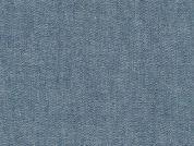 Robert Kaufman Plain Chambray Denim Dress Fabric  Indigo