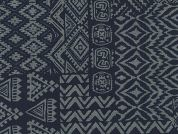 Robert Kaufman Aztec Chambray Denim Dress Fabric  Indigo