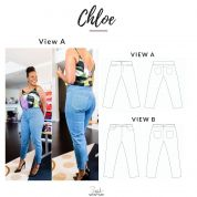 Style Sew Me Sewing Pattern Chloe Jeans