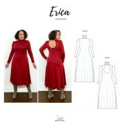 Style Sew Me Sewing Pattern Erica Dress