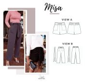 Style Sew Me Sewing Pattern Misa Trousers & Shorts