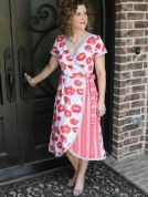 Serendipity Studio Ladies Sewing Pattern 133 The Ramona Wrap Dress