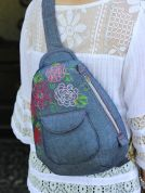 Serendipity Studio Accessories Sewing Pattern The Cheyenne Rope Bag