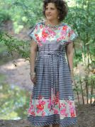 Serendipity Studio Ladies Sewing Pattern 152 The Heidi Dress