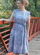 Serendipity Studio Sewing Pattern Erin Shirtdress