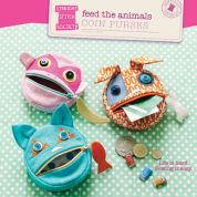 Straight Stitch Society Easy Sewing Pattern Feed The Animal Coin Purses