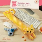 Straight Stitch Society Easy Sewing Pattern Desktop Pets Wrist Rest