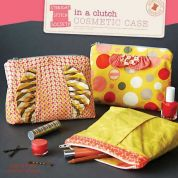 Straight Stitch Society Easy Sewing Pattern In A Clutch Cosmetic Case