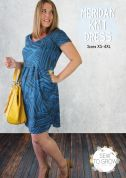 Sew To Grow Ladies Easy Sewing Pattern Meridan Knit Dress