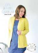 Sew To Grow Ladies Easy Sewing Pattern Fall In Love Cardigan