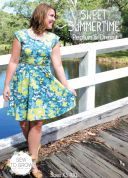 Sew To Grow Ladies Sewing Pattern Sweet Summertime Peplum Top & Dress