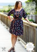 Sew To Grow Ladies Sewing Pattern Flatter Me Frock Dress