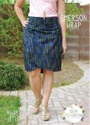 Sew To Grow Ladies Easy Sewing Pattern Emerson Wrap Skirt
