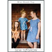 Sew To Grow Sewing Pattern Mini Bondi Top & Dress