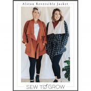 Sew To Grow Sewing Pattern Alston Reversible Jacket