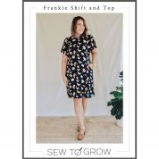 Sew To Grow Sewing Pattern Frankie Shift & Top