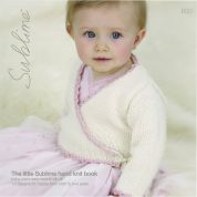 Sublime The Little Hand Knit Book 600 Knitting Pattern Book  DK