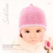 Sublime The Second Little Hand Knit Book 606 Knitting Pattern Book  DK