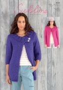 Sublime Ladies Jackets Lola Knitting Pattern 6125  Super Chunky