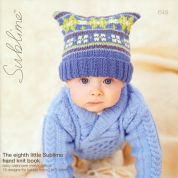 Sublime The Eighth Little Hand Knit Book 649 Knitting Pattern Book  DK