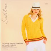 Sublime The Fourth Cashmere Merino Silk Book 652 Knitting Pattern Book  DK