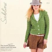 Sublime The Fourth Fabulous Merino Wool Book 654 Knitting Pattern Book  DK