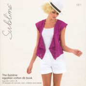 Sublime The Egyptian Cotton Book 661 Knitting Pattern Book  DK