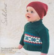 Sublime The Eleventh Little Hand Knit Book 663 Knitting Pattern Book  DK