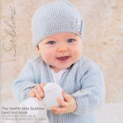 Sublime The Twelfth Little Hand Knit Book 665 Knitting Pattern Book  DK