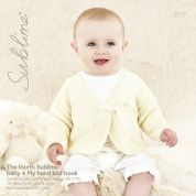 Sublime The Fourth Baby Hand Knit Book 677 Knitting Pattern Book  4 Ply