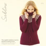 Sublime The Eighth Sublime Merino Book 678 Knitting Pattern Book  DK