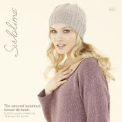 Sublime The Second Luxurious Tweed Book 680 Knitting Pattern Book  DK