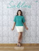 Sublime The Second Sublime Cotton Silk Book 695 Knitting Pattern Book  DK
