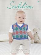 Sublime The Eighteenth Baby Hand Knit Book 696 Knitting Pattern Book  DK