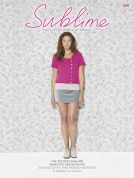 Sublime The Second Extra Fine Merino Worsted Design Book 699 Knitting Pattern Book  Aran