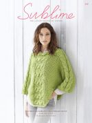 Sublime The Second Lola Design Book 717 Knitting Pattern Book  Super Chunky