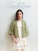 Sublime The First Elodie Design Book 719 Knitting Pattern Book  DK