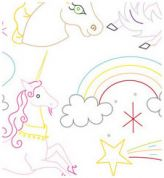 Sublime Stitching Embroidery Transfer Unicorn Believer