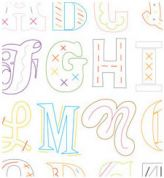 Sublime Stitching Embroidery Transfer Epic Alphabet