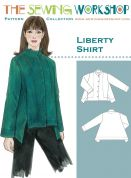 The Sewing Workshop Ladies Sewing Pattern Liberty Shirt