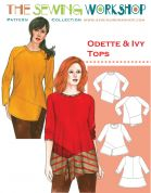 The Sewing Workshop Ladies Sewing Pattern Odette & Ivy Tops