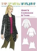 The Sewing Workshop Ladies Sewing Pattern Anns Cardigan & Tank Top