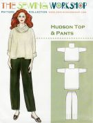The Sewing Workshop Sewing Pattern Hudson Top & Trousers