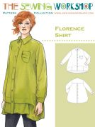 The Sewing Workshop Ladies Sewing Pattern Florence Shirt