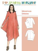 The Sewing Workshop Ladies Sewing Pattern Memphis Dress