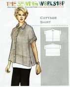 The Sewing Workshop Sewing Pattern Cottage Shirt
