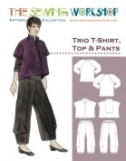 The Sewing Workshop Ladies Sewing Pattern Trio Top & Trousers
