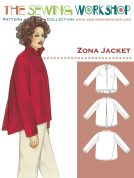 The Sewing Workshop Ladies Sewing Pattern Zona Jacket